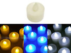 12 x LED White Candle Tea Light Flicker Wedding