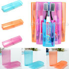 Outdoor Travel Toothbrush Holder Covers Hiking Camping Toothpaste Case Boxes