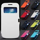 Fashion Magnetic Flip Leather Case Cover Pouch For Samsung Galaxy S4 Mini I9190