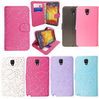 For Samsung Galaxy Note 3 Neo N7505 New Shiny PU Leather Wallet Flip Case Cover