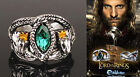 Lord of Rings Aragon's Ring Barahir Leopard Lotr Crystal Ring 4 Size US Jf395