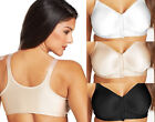 2 Pack Playtex 18 Hour Sensationally Sleek™ Front-Close Wirefree Bras Style 4930