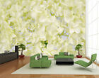 Photo Wall Mural Floret Snow  Wallpaper Wall art Wall decor Flowers Blossoms