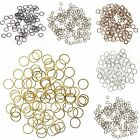 Wholesale 2000Pcs Silver/Golden Plated Jumping Rings Various Color U Pick
