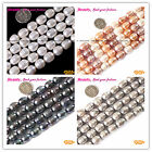 "Olivary Potato White Grey Multi-color Freshwater Pearl Beads 15""10-11x12-13mm"