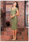 Stop Staring! Billion Dollar Baby Dress Olive Green Small, Med, Large, XL 1X  2X