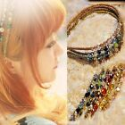 Retro Style Rhinestone Crystal Headband Barrette Hairpin Hairgrip Clips