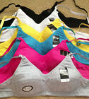 Lot Plain Wire Free COTTON Full Cup Junior Teen First Training Bra 30 32 34 36A