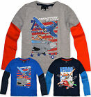 Boys Disney Planes Dusty T Shirt Long Sleeves Kids Top New Age 3 4 6 8 Years