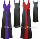 WOMENS QUALITY MAXI DRESS STRETCHY (EVE) EVENING, PARTY CRUISE SIZE 20 to 26