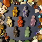 2 Gemstone Fertility Goddess Pendant Beads and Stone Beads Mix!
