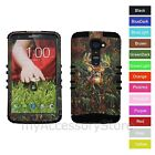 For Verizon LG G2 VS980 Hunting Deer Camo Hybrid Rugged Impact Armor Case Cover