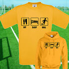 EAT, SLEEP, HULL FOOTBALL T SHIRT / HOODIE - KIDS ADULTS  TOP