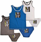 Boys Star Wars Pants Kids Underwear Vest Briefs Set New Age 2 3 4 5 6 8 Years