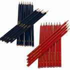 Red Or Blue Graphite HB Consortium Pencils School Arts & Crafts New Stationery
