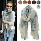 NEW Vintage Cozy china Style Design Women Girl's Long Scarf Warp Shawl Stole