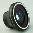 ue33 Magnetic Wide 180°Detachable Fish Eye Lens for iPhone 4 4G 4S Cell Phone