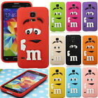 3D Cute Cartoon Rainbow Bean Silicone TPU Case Cover For Samsung Galaxy S5 i9600