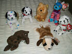 Ty Beanies DOGS -  RARE   Please Read Description For Postage Savings