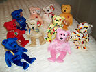 Ty RARE Beanie BEARS Retired    NEW Please Read Description To Save On Postage