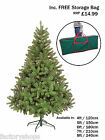 COLORADO ARTIFICIAL GREEN CHRISTMAS XMAS TREE 4FT 5FT 6FT 7FT 8FT 9FT TOP SELLER