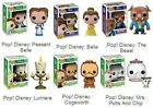Disney Pop! Vinyl Figures Beauty & the Beast Cogsworth Lumiere Belle Mrs Potts