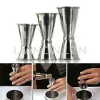 Stainless Steel Jigger Cocktail Drink Bartender Mixer Measuring Cup Size S/M/L