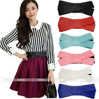 Fashion Lovely Women Butterfly Bow Elastic Waistband Wide Stretch Belt 1x 2014HK