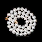 8.5mm-9.5mm White Cultured Freshwater Pearl Necklace