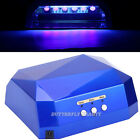 Nail Art Machine 36W CCFL+LED Lamp UV Gel Polish Dryer Timer Curing Cure Light