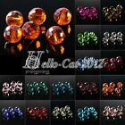 50pcs 12mm Glass Crystal Disco Ball Spacer Loose Beads DIY Jewelry Making 5003