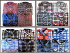 MENS FLANNEL 100% COTTON BRUSHED WARM LAMBERJACK CHECK WORKING SHIRT M to XXL
