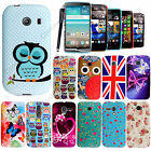 For Various Mobile Phones Printed Rubber Silicone Gel Back Case Cover+Stylus