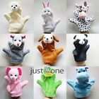NEW Plush Velour Animal Hand Puppets Glove Zoo Play Learn Toy for Baby Kid Child