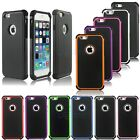 New Rugged Hybrid Heavy Duty Hard Impact Cover Case Skins for Apple iPhone 6