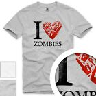 Love Zombies T-Shirt Herren Walking zombie the dead dixon horror staffel bluray