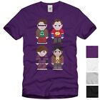 Big Bang Friends Herren T-Shirt big bang sheldon theory bbt tbbt bluray cooper