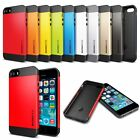 Ultra Slim Armor 2-Piece Hybrid Shock Proof Case Cover for iPhone 5  5S  6