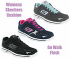 Womens Skechers Go Walk 2 Flash Lightweight Lace Up Trainers Shoes Size 4-8 UK
