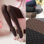 Fashion Autumn Warm Polka Dots Stretch Knit  Leggings Stockings