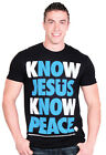 NOTW Know Jesus Know Peace Christian Adult T-Shirt
