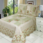 Upland Oversize Coverlet Set, Luxury Microfiber Quilt by Royal Hotel