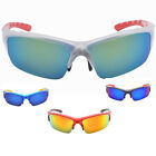 New 2014 Men's Sport Outdoor Cycling Colorful Mirror Plastic Sunglasses eyewear