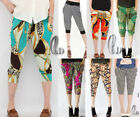 Womens Soft Casual Hippie Short Baggy Harem Yoga Beach pants AU SELLER P030