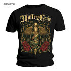 Official T Shirt MOTLEY CRUE Black EXQUISITE DAGGER Vintage All sizes