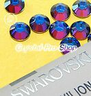 GENUINE Swarovski Meridian Blue (MBL) Crystal Glass Iron on Hot fix Rhinestones