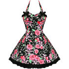 Pink Skulls Tattoo Rockabilly Goth Emo Mini Prom Dress