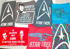 Authentic STAR Trek T Shirt Mens All Sizes Retro Vintage Style TShirt Kirk Spock