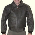Hein Gericke ACE Bomber Aviator  Vintage Leather Motorcycle Riding Jacket
