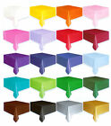 "54 "" x 108 "" Rectangle Plastic Party Table Cover You Pick The Color"